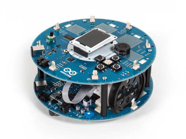 The new arduino robot kit is here