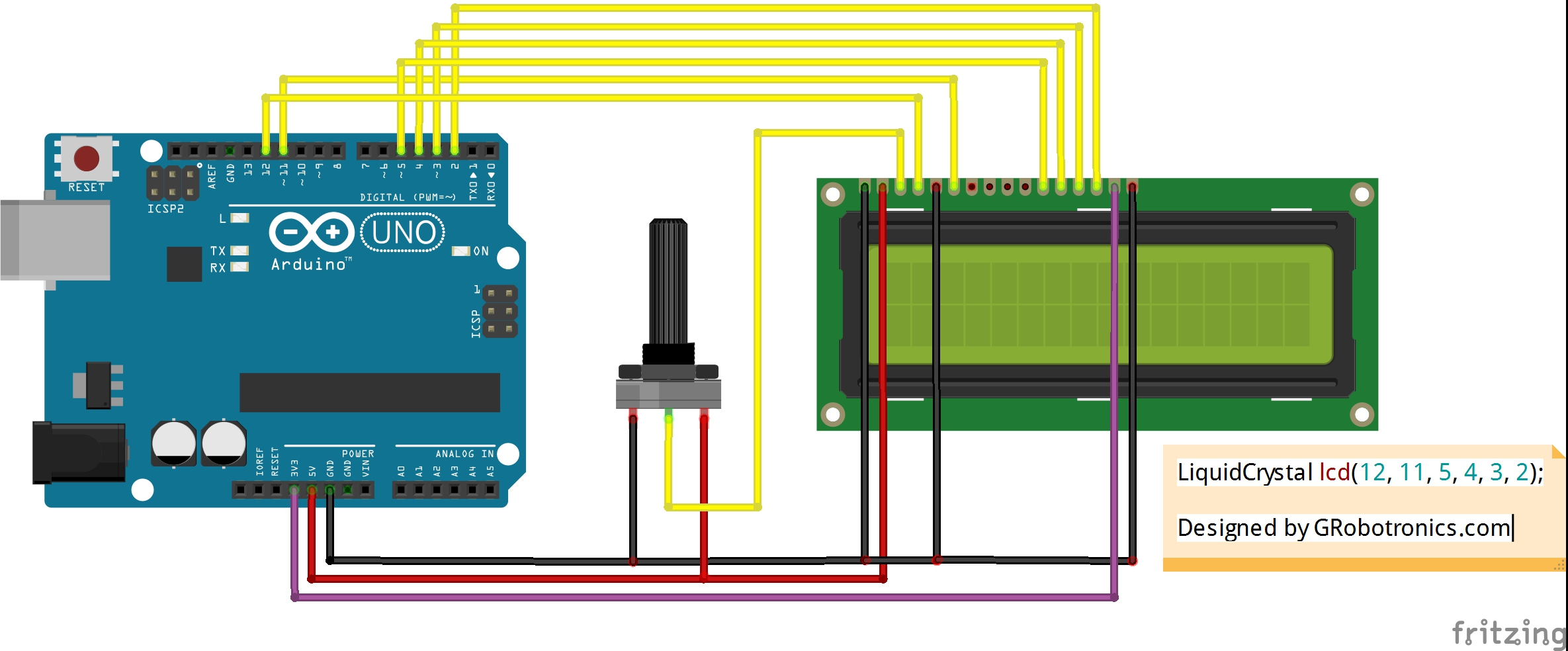 Controlling lcd displays with the hitachi hd driver